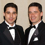 McGreevey and his version of Johnny Cakes, Golan Cipel